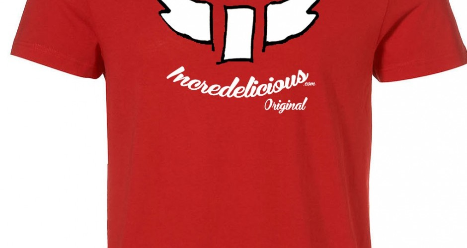 Red Incredelicious Original T-Shirt