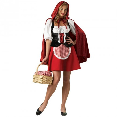 A classic costume everyone will love.  A charming costume from a classic fairytale. Red Riding Hood costume includes a peasa