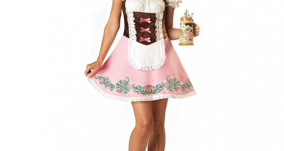 Fetching Fraulein Adult Costume, Oktoberfest Costume For Women, Womens Adult Oktoberfest Costume