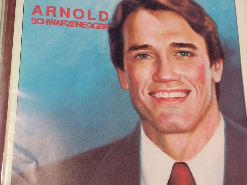 I CANNOT BELIEVE IT AN ARNOLD SWARTZENEGGER COMIC BOOK