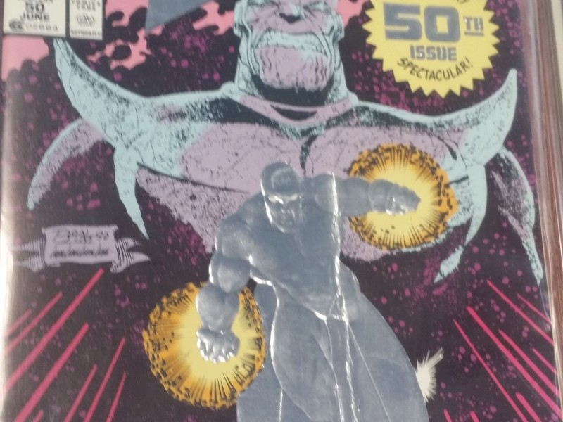 FIRST ISSUE OF SILVER SURFER COMIC BOOK